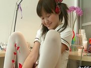 Dagfs – Asian orgasming before school