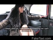 FakeTaxi – Escort trades anal for free ride