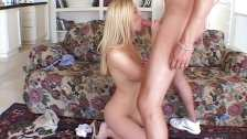 Anal with cute blonde Michelle B.