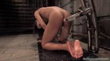 Marie Luv Ebony Orgasm On Fucking Machines