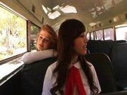 Bus.stop.girls.part.1