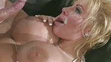 Big titted Lovette gets DP'ed
