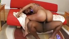 Black Big Booty Slut Riding Hardcore BBC