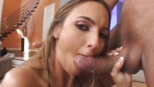 Deep cum sucking
