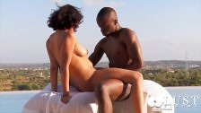 Lust Cinema Sensual black couple sex