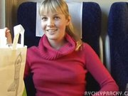 Public sex in train wweet Czech teen