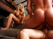Two blondes fucking and fucked